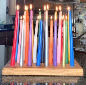 Birthday Candle Board