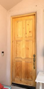 care for wooden front door