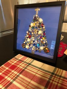 Friends' Costume Jewelry Christmas Trees